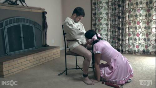 Femdom and Strapon Nurse Fluffy