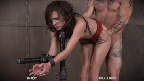 BDSM Sloppy party girl Alex More learns a lesson!