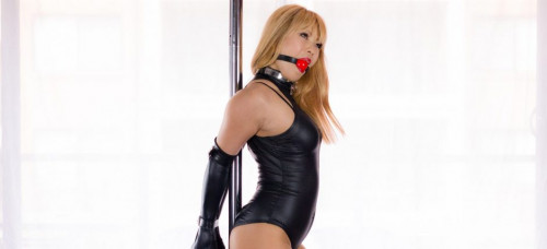 BDSM Pole Dancing Damsel