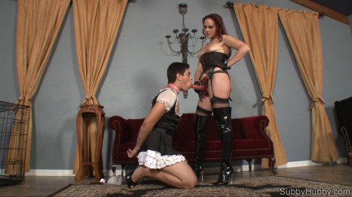 Femdom and Strapon Porn Most Popular Subby Hubby Collection part 25