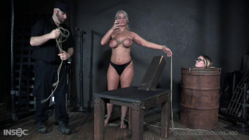 BDSM Dominate Experiments With Busty London River