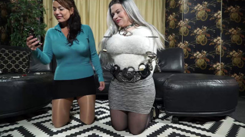 BDSM Dominica And JJ Playing With Cuffs Again
