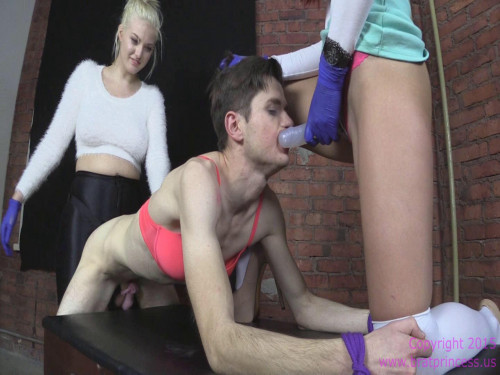 Femdom and Strapon Jenna Ivory Double Pegging Dani (2015)