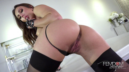 Femdom and Strapon Paige Owens - Shoot and Swallow