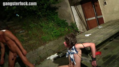 Gay BDSM Caning of a sprayer pt.4