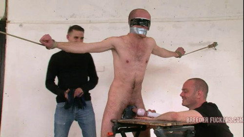 Gay BDSM Kieran - Face covered in piss, body flogged, nipple clamps