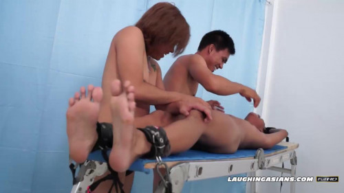 Gay BDSM Ticklish Idol