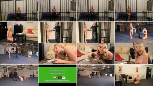 BDSM Super bondage, domination and torture for two naked blondes Full HD 1080p