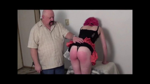 bdsm Natasha Plugged and Spanked