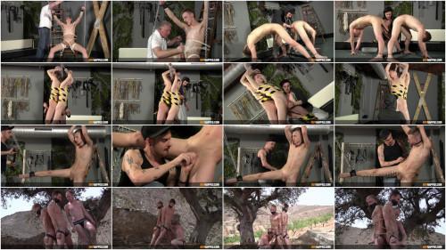 Gay BDSM Big Dicked Sub Boy Reece - Full HD 1080p