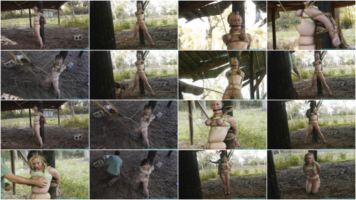 BDSM Outdoor Afternoon Agony for Lexi Lane 3 part - Bondage, Caning