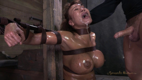 BDSM Milf-Tastic Ava Devine Sybian Orgasmed Out Of Her Mind While Brutally Throat Fucked!