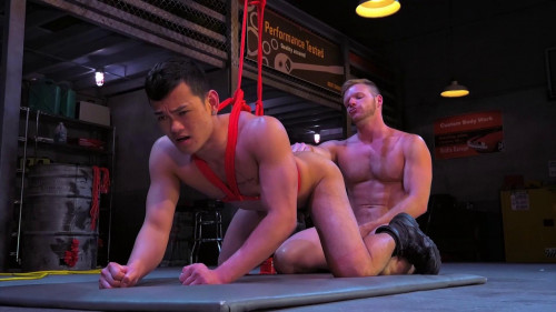 Gay BDSM Bondage Garage, Scene #02