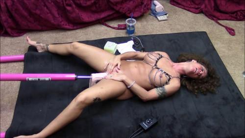 Sex Machines Legs spread and machine fucked