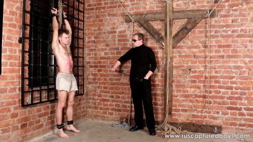 Gay BDSM RusCapturedBoys - Rebellious Slave Roman - Final Part - 08.01.2016