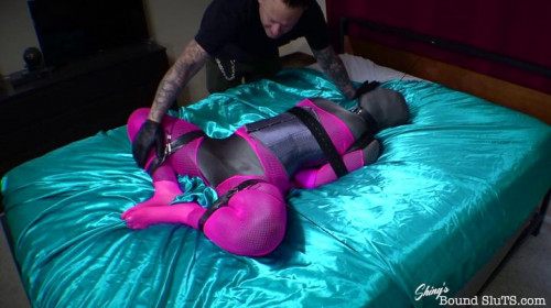 BDSM ShinysBoundSluts - Roxi Heart - Silky Doll Helpless and Cumming