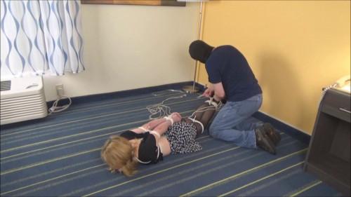 BDSM Macy NIkole in Tight Bondage Peril Pt 2