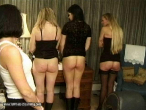 bdsm Party Girls Caning Competition