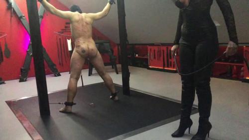 Femdom and Strapon Hardcore Punishment