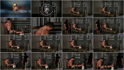 Gay BDSM RCapturedBoys - Interrogation of Robber Slava. Part 2