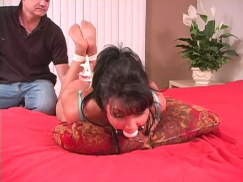 bdsm Helplessly Bound And Foot Tickled