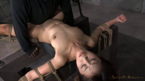 bdsm Little Asian Slut Marica Hase Roughly Fucked