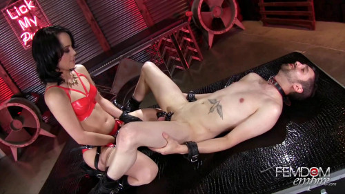 Femdom and Strapon Kristina Rose - Merciless BBC Ass Pounding