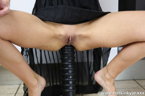 Fisting and Dildo Huge anal terrorist ruin Honkinkyjo ass in the kitchen