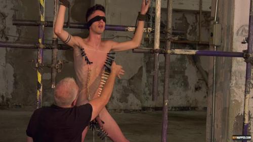 Gay BDSM New Boy Jesse Gets A Stern Lesson. Part 2