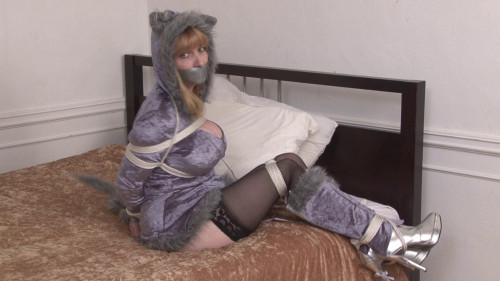 bdsm Bound and Gagged - Cute Bondage with Wolfgirl Lorelei