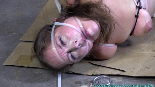 BDSM Rachel Ziptied Again Part 4