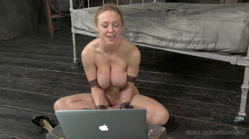 BDSM Darling is DPed and turned into a three hole slut!