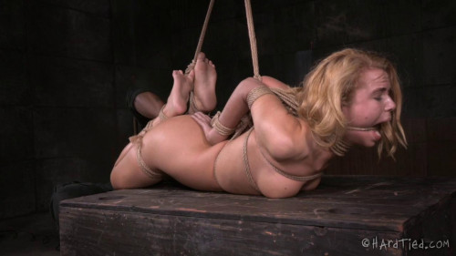 bdsm HardTied Alina West and Jack Hammer