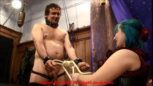 Femdom and Strapon Footsub Chastity Footjob Electric CBT -Plus Bonus- Licking Cum Off My Feet Part 1