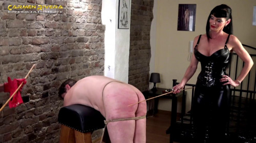 Femdom and Strapon Slave on Fire - Scene 3 - HD 720p