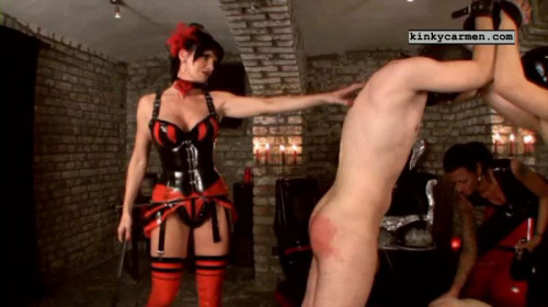 Femdom and Strapon Mega Perfect Sweet Nice Sweet New Vip Collection Kinky Carmen. Part 3.