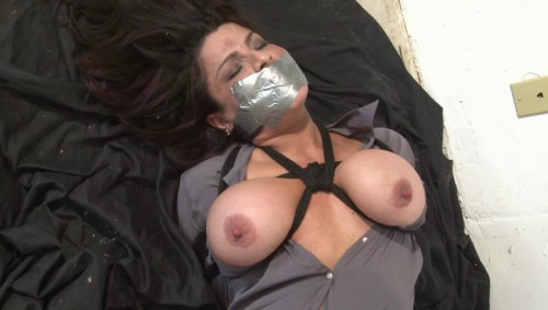 bdsm Bound and Gagged - Sofie Marie Tied by Jon Woods