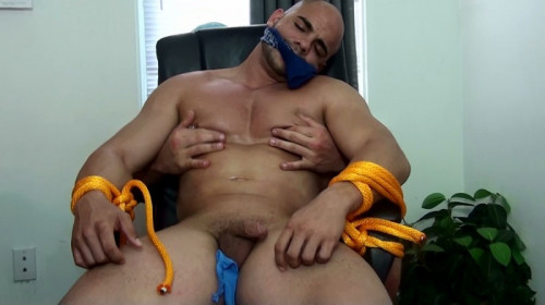 Gay BDSM BAndBound - Rocky - Web Cam Attack