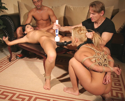 BDSM Two Very Hot Girls - Tied And Fucked