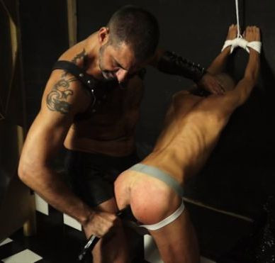 Gay BDSM Alberto Martin and Turbo Leon