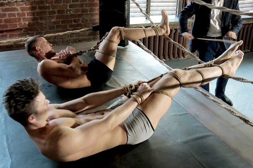 Gay BDSM RusCapturedBoys - Two Amateur Wrestlers. Final Part