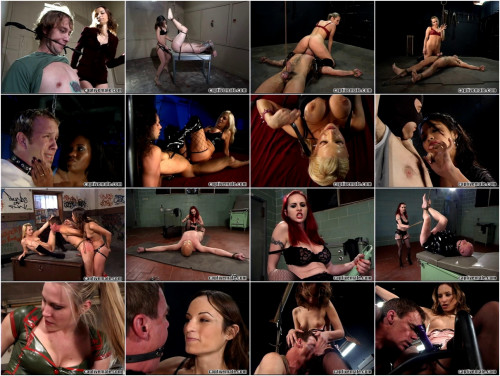 Femdom and Strapon Magic New Good Full Collection CaptiveMale. Part 1.