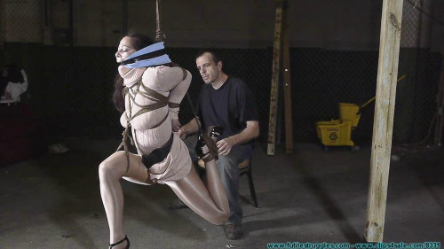 BDSM Summer Hung by Her Elbows