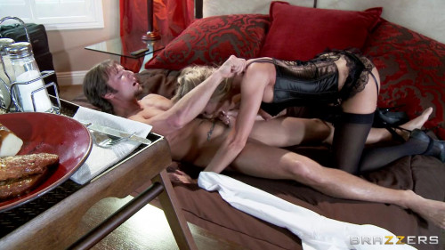 Femdom and Strapon Cuckolding the Neglectful Husband