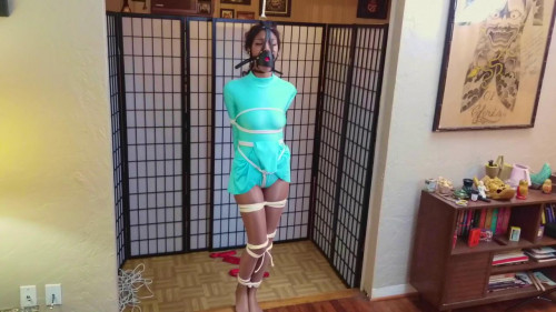 BDSM Ice Skater Bound For Trouble Part 1-rope bondage videos