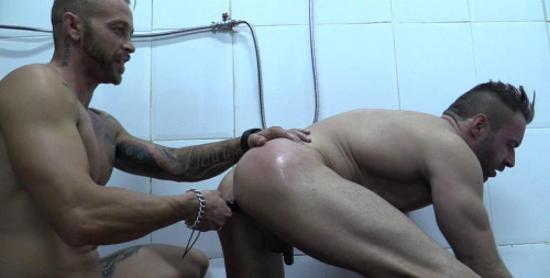 Gay BDSM Kinky Gays In The Shower Vol. 4