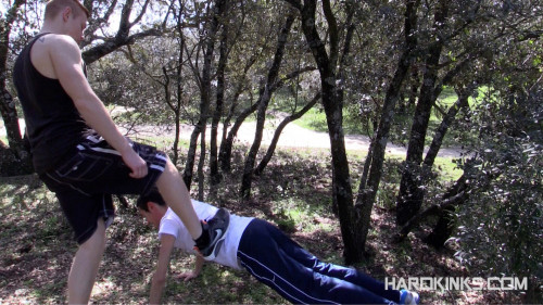 Gay BDSM Humiliation Forest and Tyler Roding