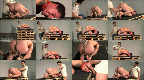 Gay BDSM Mike - Trapped in agonising bondage
