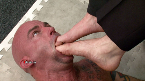 Gay BDSM Perfect Feet, Your Mouth