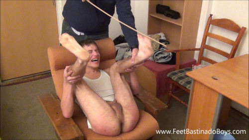 Gay BDSM Best Collection - FeetBastinadoBoys Only exclusive 6 clips. Part 18
